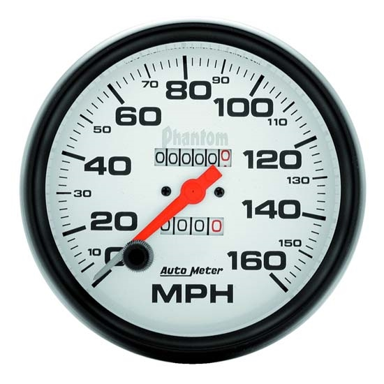 Auto Meter 5895 Phantom Mechanical Speedometer, 160 MPH, 5 Inch