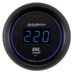 Auto Meter 6948 Cobalt Digital Oil Temperature Gauge, 2-1/16 Inch