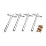 Edelbrock 4402 Valve Cover Wing Bolt Kit, 5.00 Inch length, Set of 4