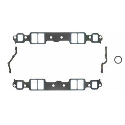 Fel-Pro Gaskets 1205 S/B Chevy Intake Manifold Gaskets, 1.28x2.09 Inch