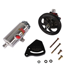 Garage Sale - KRC 29010015 Pro Alum SBC Pump Kit, V-Belt, Block Mount, Remote Tank