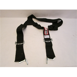 Garage Sale - RJS 3 Inch Y Shoulder Harness, Floor Mount, Black