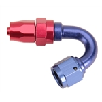 Fragola 231507 150 Degree Adapter Hose End Fitting, -6 AN to -8 AN