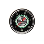 Stewart Warner 691BS Green Line 2-5/8 In Oil Pressure Gauge-Mechanical