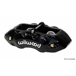 Wilwood 120-10526-BK D8-4 Rear Caliper, Black, 1.38 / 1.25