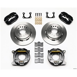 Wilwood 140-7143 Rear Disc Parking Brake Kit, Ford 9 Inch, 2.66 Offset