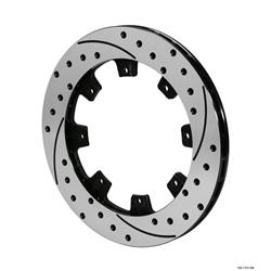 Wilwood 160-7103-BK SRP-BLK 32 Vane Iron Rotor, 12.19 Inch