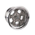 Team III Wheels ET Five-Window Wheel, 15x8, 5 on 4.5, 4 Inch Backspace