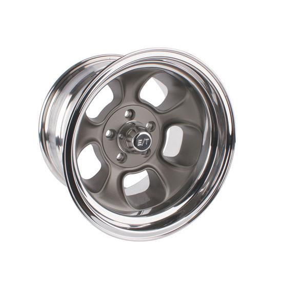 Team III ET Five-Window 15 In Wheel, 15x8, 5 on 4.5, 4 In Backspace
