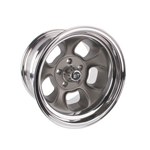 Team III ET Five-Window 15 Inch Wheel, 15x8, 5 on 4.5, 4 Inch Backspace