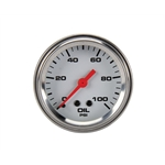 Speedway Mechanical Oil Pressure Gauge, 2-1/16 Inch