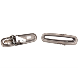 Speedway Plain Flush Fit Universal Door Handles