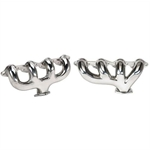 Tru-Ram Big Block Chevy Exhaust Manifolds, Polished