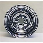 Garage Sale - O/E Style Hot Rod Steel 15 Inch Wheel, Chrome, 15 x 5, 5 on 4-1/2