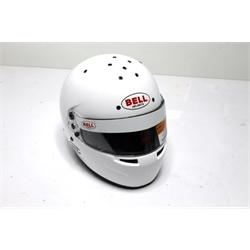 Garage Sale - Bell RS7 Sa2015 Racing Helmet, White, Size 7-3/8
