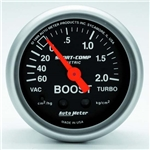 Auto Meter 3303-J Sport-Comp Mechanical Boost/Vacuum Gauge