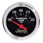 Auto Meter 880430 Jeep Air-Core Transfer Case Temp Gauge, 2-1/16 Inch