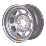 Aero 52-084540 52 Series 15x8 Wheel, 5 on 4-1/2 BP, 4 Inch BS IMCA