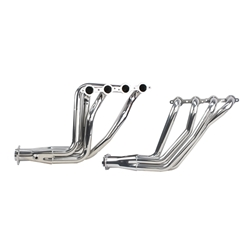 Dynatech® Long Tube LS Headers, 1-7/8, 3 Inch Reducer, Ceramic Coated