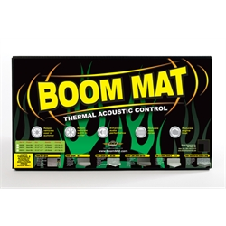 DEi 050202 Boom Mat Damping Material, 12 x 12-1/2 Inch, 4 Sheets
