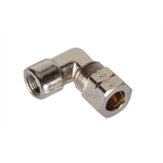 Cold Fire Super Systems Elbow Fitting, 1/8 NPT Female, 3/8 Inch Tube