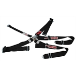 Simpson 5-Point Harness Seat Belt Set, Wrap Around, Pull Up