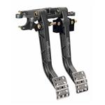 Wilwood 340-11295 Adjustable Dual Pedal, Fwd. Swing Mount - 6.25:1