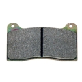 Wilwood 15E-9837K NDL/Dynalite Bridge Bolt Brake Pads-Poly-E .490 Inch