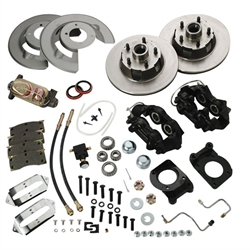 Speedway 1967-69 Ford Mustang Front Disc Brake Conversion Kit