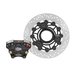 QTM Brakes SDK-3 Sprint/Dirt Track Racing Rear Outboard RR Brake Kit