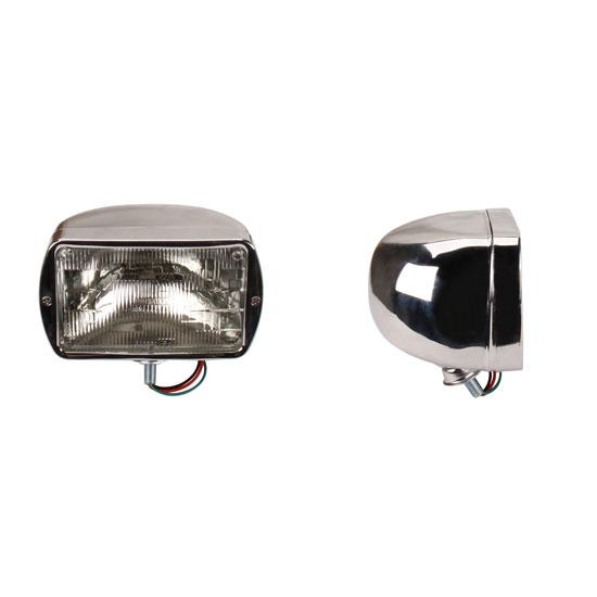 Rectangular Headlights, Standard Bulb