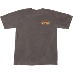 Rat Rod Sedan Laid-Back Charcoal T-Shirt