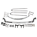 Front End Assembly for Model A Frame, I-Beam Axle, Chrome