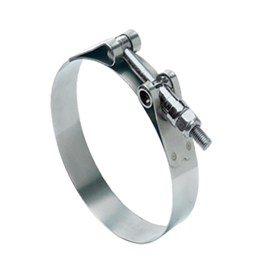 Ideal heavy duty t bolt clamp inch minimum clamping
