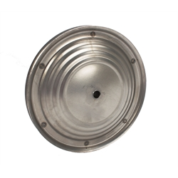 Pedal Car Parts, 7-1/2 Inch Ripple Wheel, For 3-3/8 Inch Hubcap