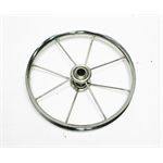 Garage Sale - 6-1/2 Inch Chrome Eight Spoke Pedal Car Wheel