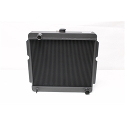Garage Sale - AFCO Direct Fit 60-78 Mopar A, B, E-Body Radiator, 22 X 22 Inch, Black Finish