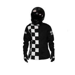 Garage Sale - Finishline Two-Layer SFI-5 Certified Racing Jacket, Black, Size Small