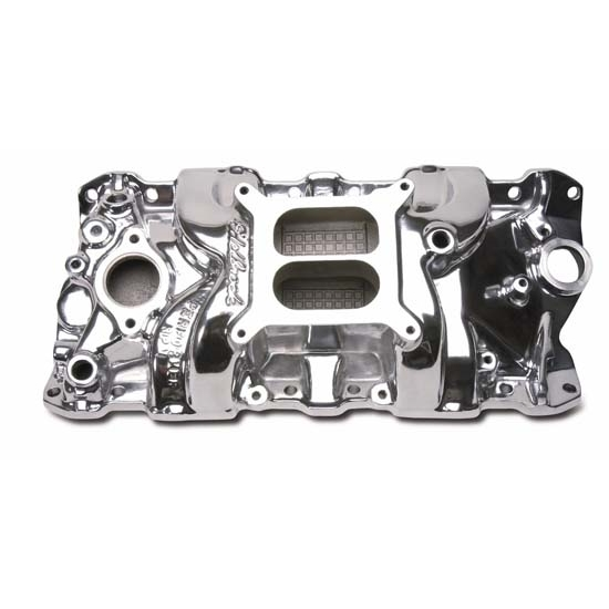 Edelbrock 71011 Performer RPM Intake Manifold, Small Block
