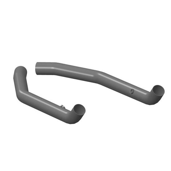 Hooker hkr long tube headers to exhuast kit adapter
