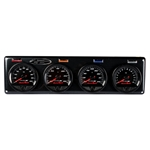 Longacre 44518 Stepper Motor Racing Gauges, 4 Gauge Panel