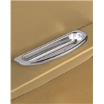 Lokar IDP-2003 Polished Billet Crescent Oval Arm Rest Door Pulls