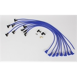 Taylor Cable 76640 8mm Solid Core Wires, Under Headers, HEI, 90, Blue