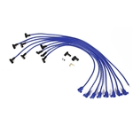 Taylor Cable 76640 8mm Solid Core Wires, Under Headers, HEI, 90  , Blue