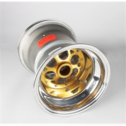 Weld Magnum 27 Spline 10 x 12 Inch Wheel, Beadlock and Cover, 5 Inch Offset ...