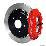 Wilwood 140-8032-R FNSL 4R Rear Brake Kit, 97-04 Corvette C5/Z06