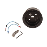 GT Performance 20-5506 GT9 1969-1994 GM Steering Wheel Adapter Hub, Black