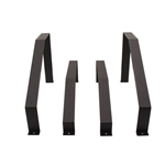 Fuel Safe 28DLM-S Steel Mounting Straps for 28 Gallon Racing Fuel Cell