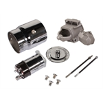 King Chrome Chevy Starter Dress Up Kit, Angled Bolt