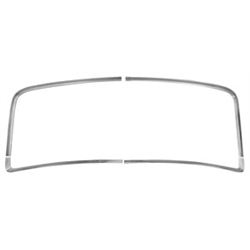 Original Parts Group M1425 Rear Window Trim Moldings, 66-67 Chevelle